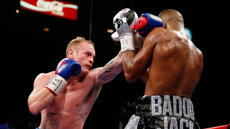 George Groves lost a split decision against WBC champion Badou Jack