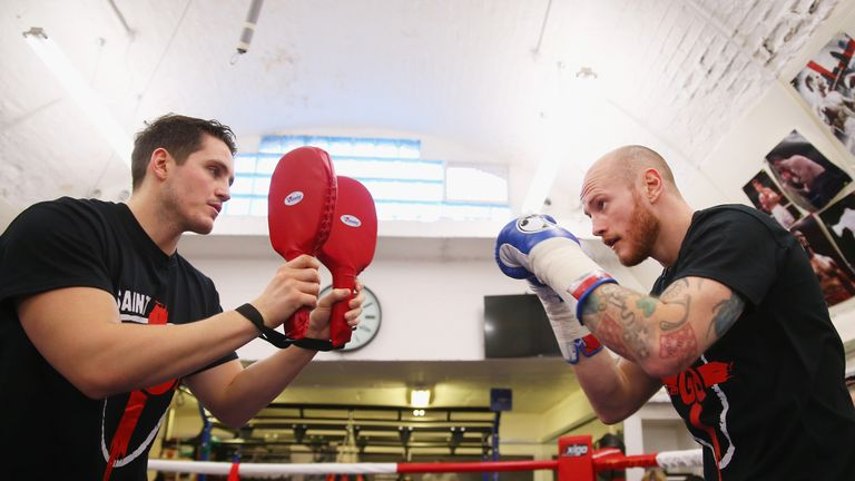McGuigan will corner George Groves in the first defence of his WBA World super middleweight title against Jamie Cox on Saturday night