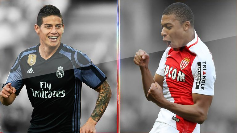 Could James Rodriguez or Kylian Mbappe be heading to the Premier League?