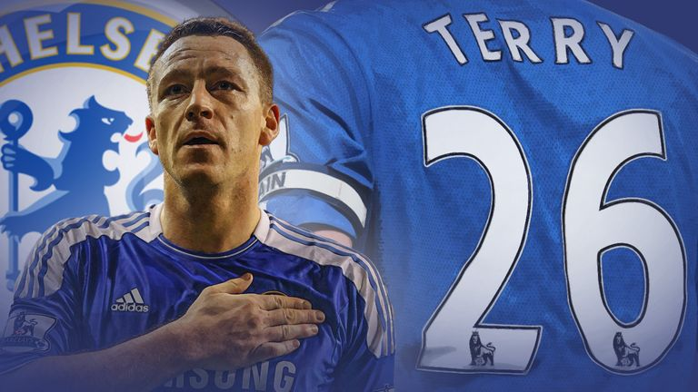 John Terry's hugely successful Chelsea career is drawing to a close