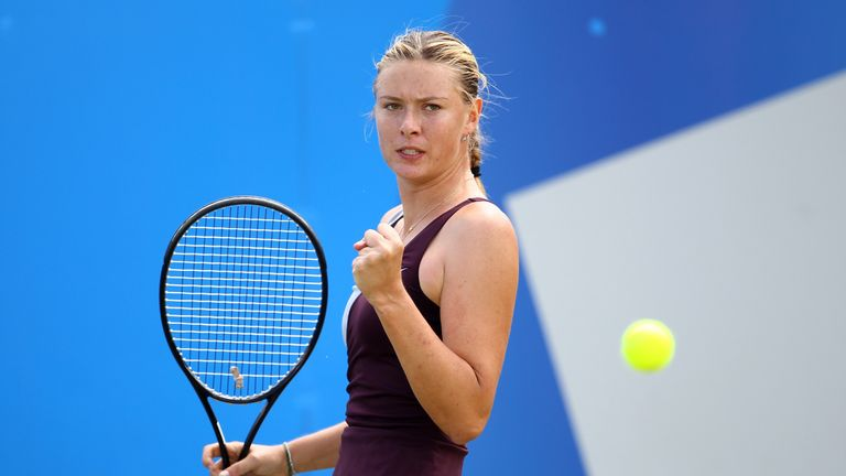 Maria Sharapova pictured on her most recent appearance in Birmingham  in 2010 when she was beaten by Li Na in the final