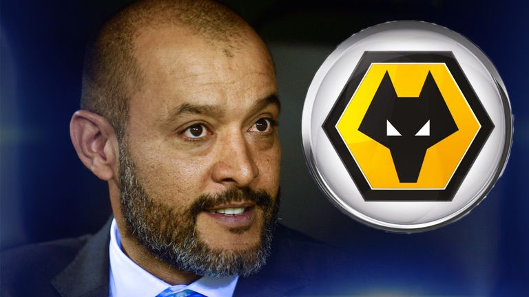 Wolves have appointed Nuno Espirito Santo as their new manager