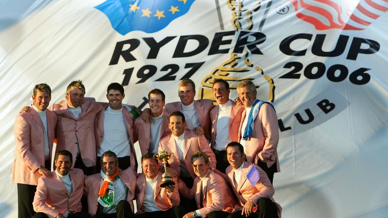 Europe's victory in 2006 was their third consecutive win