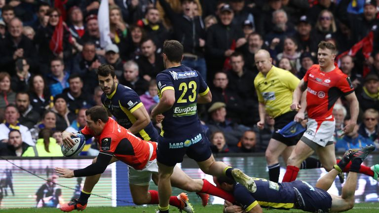 Saturday's defeat in Edinburgh was Clermont's third European Cup final loss