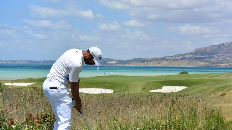 Rocco Forte Open champion Alvaro Quiros described the courses as 'paradise'