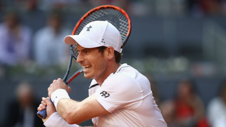 Andy Murray Qualifies For Third Round — Madrid Open