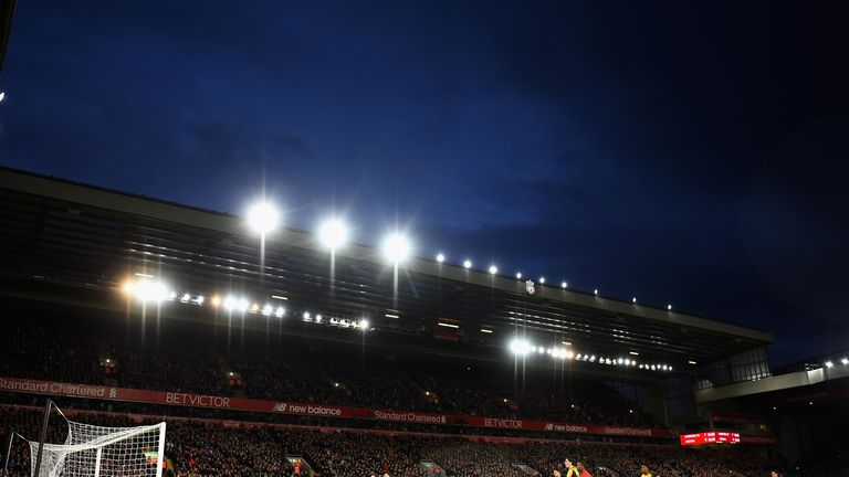Liverpool's Centenary Stand will be renamed the Kenny Dalglish Stand