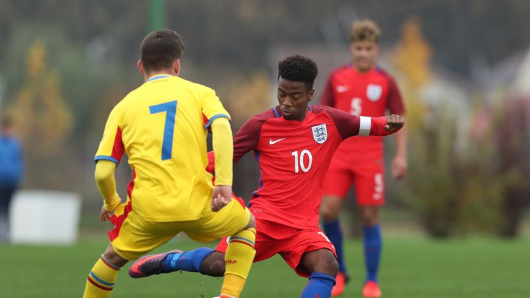 Gomes has captained England's U17 team