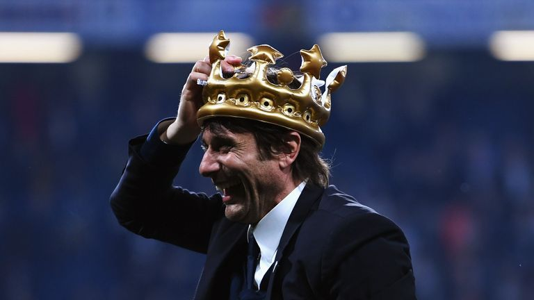 Conte has won the Premier League but has other targets he wants to reach before he will discuss his future