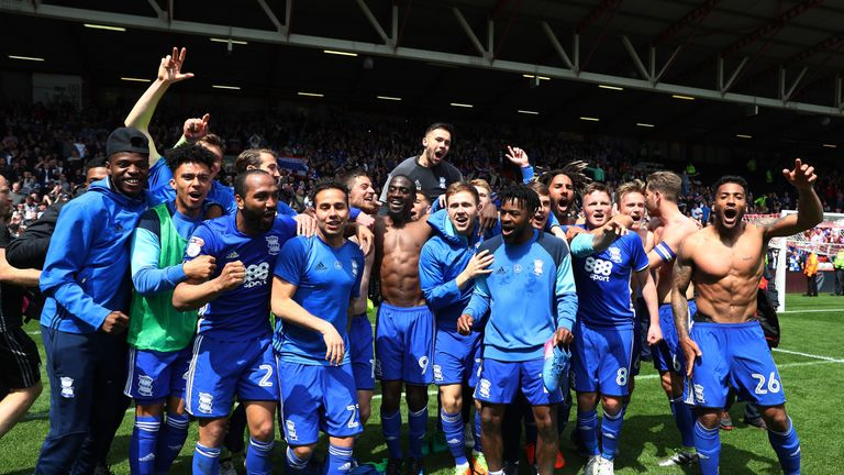 Birmingham survived relegation on the final day of the Sky Bet Championship season