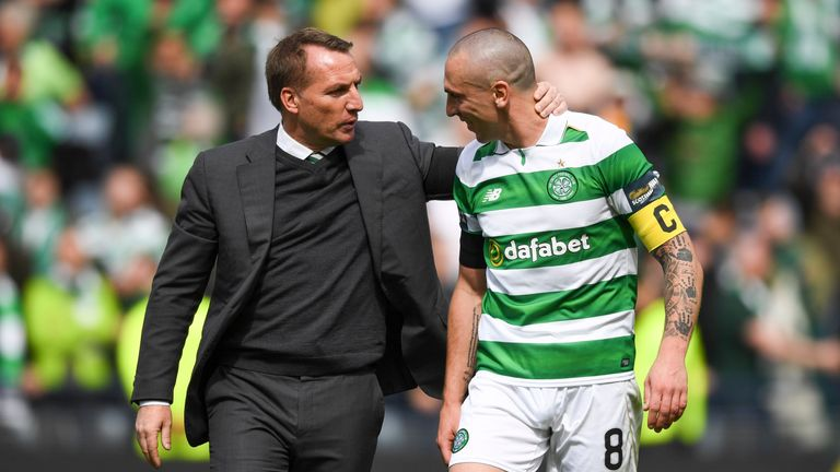 It has been a great season for Brendan Rodgers and Scott Brown