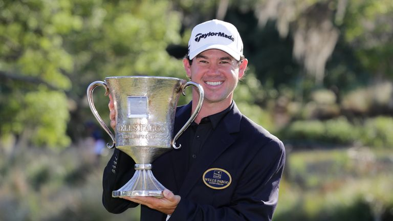 Brian Harman clinched his second career PGA Tour title at Eagle Point