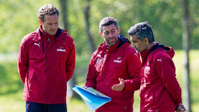 Rangers manager Pedro Caixinha brought Jonatan Johansson into his coaching setup