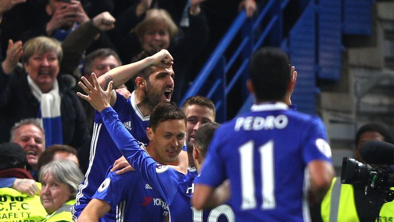 Cesc Fabregas provided two assists against Middlesbrough