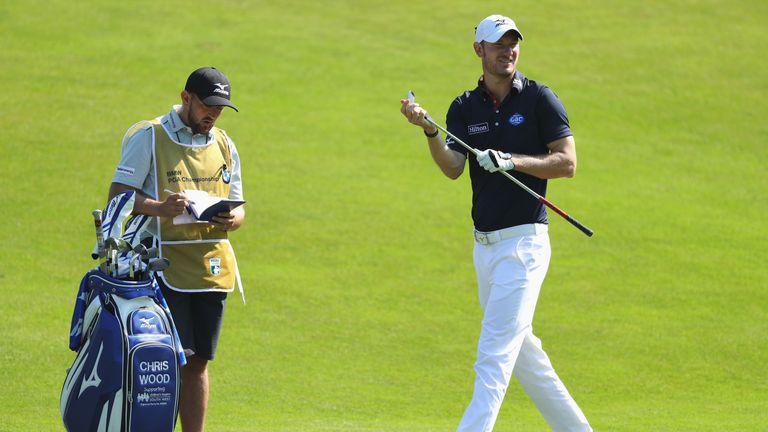Chris Wood admitted he lost confidence with putts from inside six feet