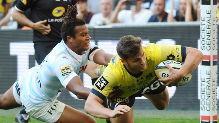 Clermont centre Damian Penaud will make his debut for France against South Africa
