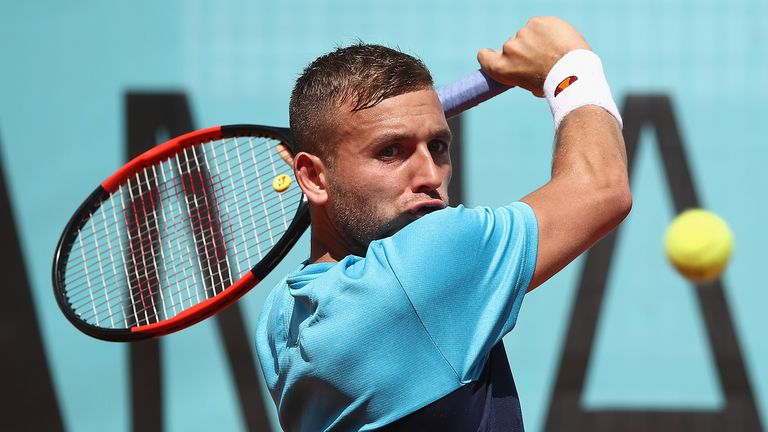 Dan Evans says Aljaz Bedene 'not British' after slipping in rankings