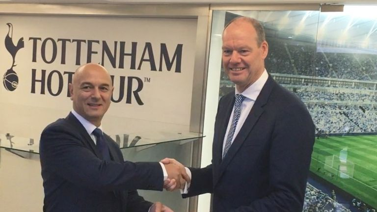 Daniel Levy hands over the keys as Spurs bid farewell to White Hart Lane