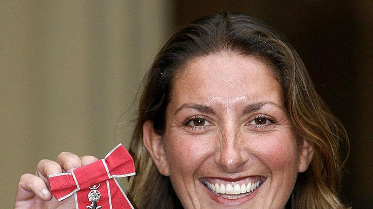 Caffari was awarded an MBE after sailing non-stop around the world against the prevailing winds and currents