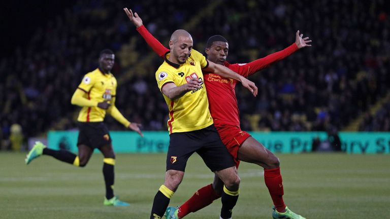 Watford host Liverpool on Sky Sports Premier League on Saturday