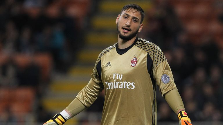 Real Madrid are pondering a swoop for Milan No 1 Gianluigi Donnarumma