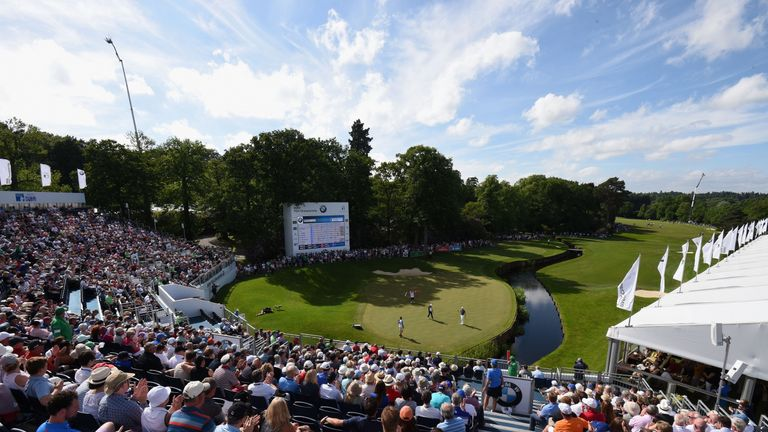 2018 bmw pga championship. wonderful bmw new tournaments in belgium oman and the philippines have been added to  european tour schedule for 2018 season with bmw pga championship p
