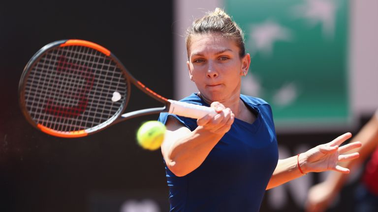 Simona Halep was too good for Anett Kontaveit who had defeated world no 1 Angelique Kerber