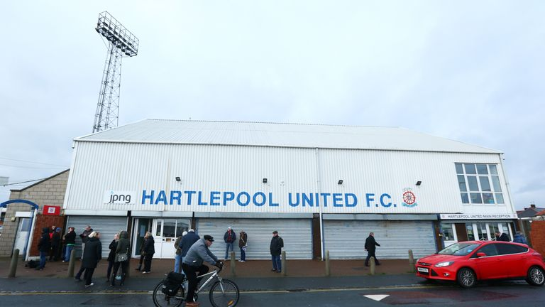 Hartlepool were relegated last season after 96 years in the Football League