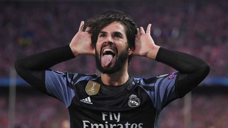 Isco has shone in Bale's absence
