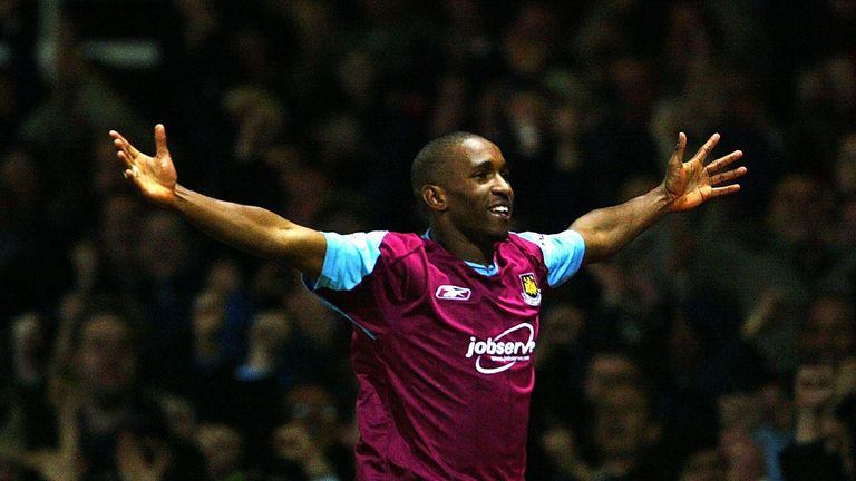 Defoe made his professional debut for West Ham but left in 2004