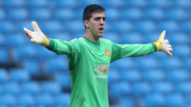 Joel Pereira could make his first start against Crystal Palace on Sunday