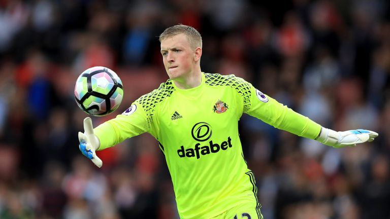 Pickford was a standout performer for Sunderland last season