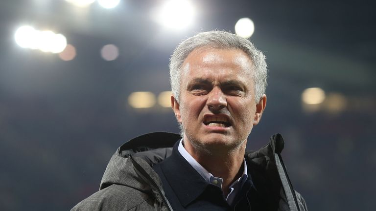 Mourinho says Manchester United will be Premier League title contenders next season