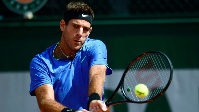 Juan Martin Del Potro mauls Guido Pella on French Open comeback
