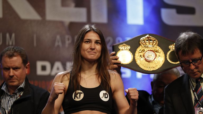 Katie Taylor has made an impressive start to her professional career