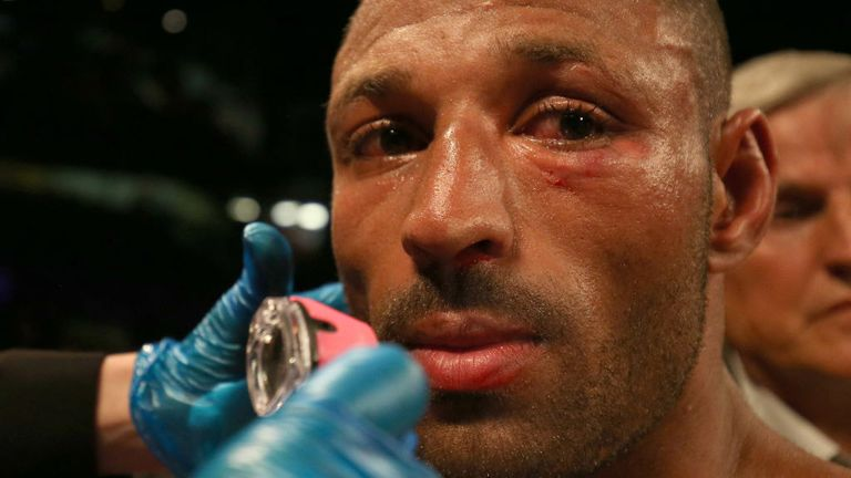Brook had to have surgery on a fractured eye socket after the 11th round defeat