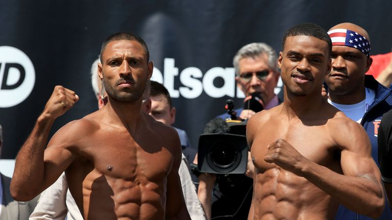 Kell Brook wants to share the ring with Errol Spence Jr again at a higher weight