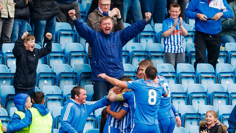 Kilmarnock pushed Inverness to the brink of relegation with a 2-1 win at Rugby Park