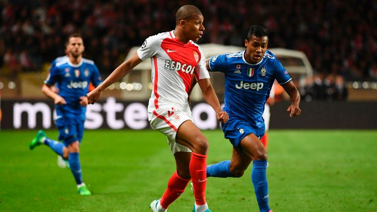 Kylian Mbappe was largely kept in check by Juventus