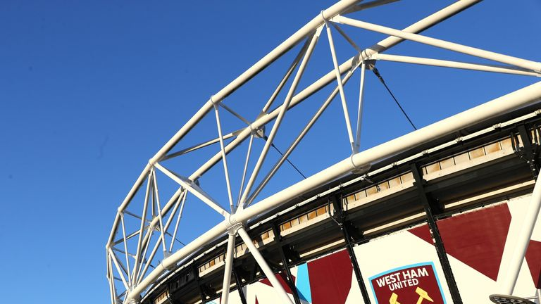 West Ham will pay a fraction of the £2.3m yearly business rate for their stadium