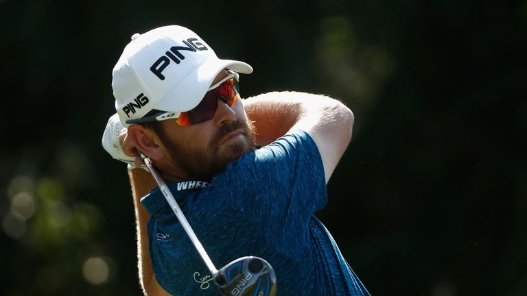 Louis Oosthuizen completed 36 holes with just one dropped shot on his card