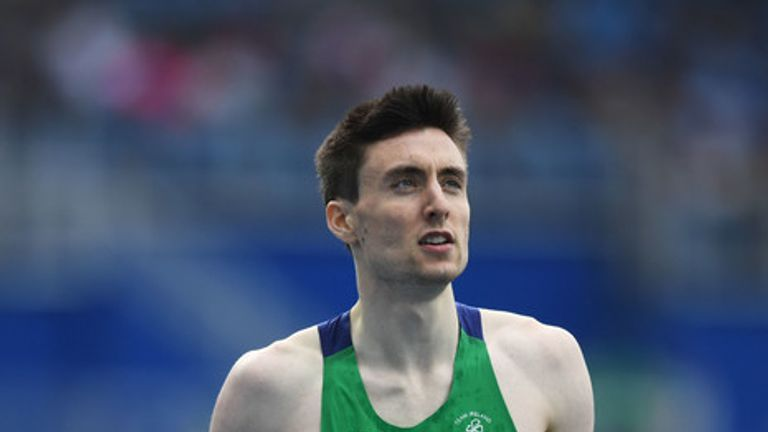 Mark English is preparing for his first competitive race in just under a year