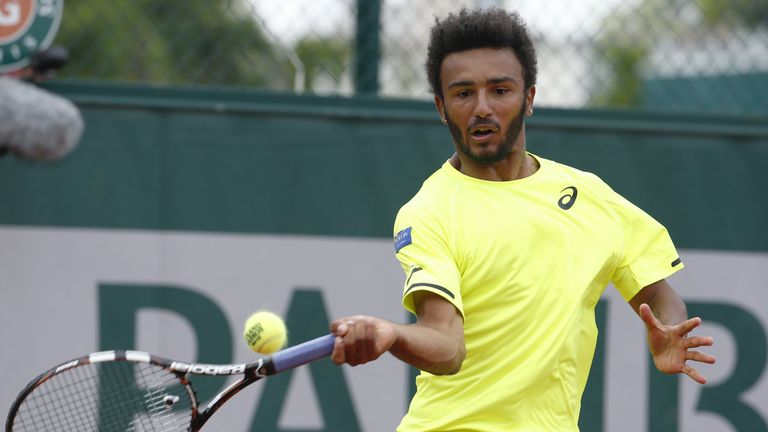 Maxime Hamou banished from Roland Garros after TV kiss incident
