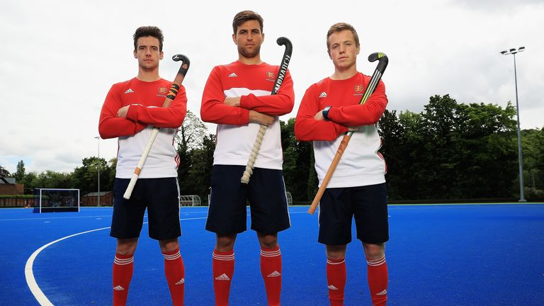Phil Roper, George Pinner and Ian Sloane  will lead the Great Britain and England men's hockey team