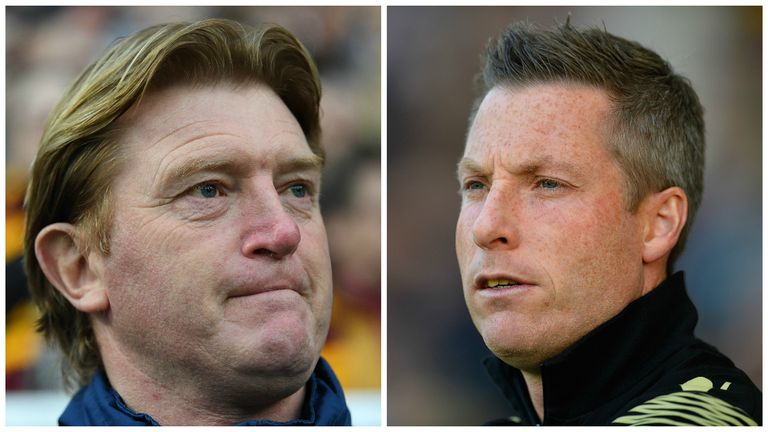 Stuart McCall and Neil Harris face-off at Wembley
