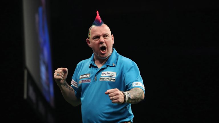 Peter Wright beat Phil Taylor to claim a place in the final