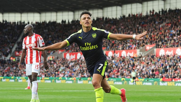 Arsene Wenger says Alexis Sanchez has not asked to leave Arsenal