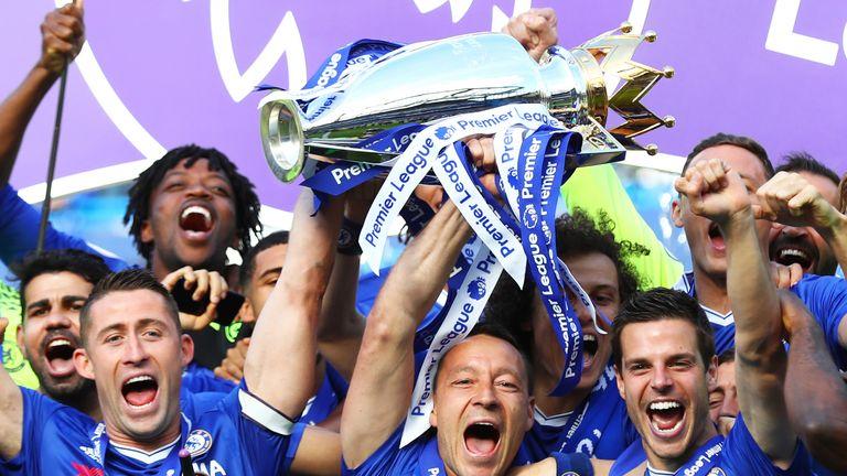 Terry finished his final Chelsea season as a Premier League winner