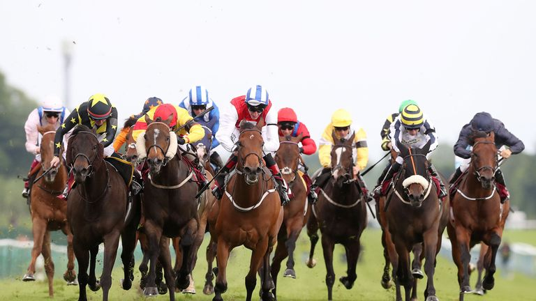 Action from Haydock Park