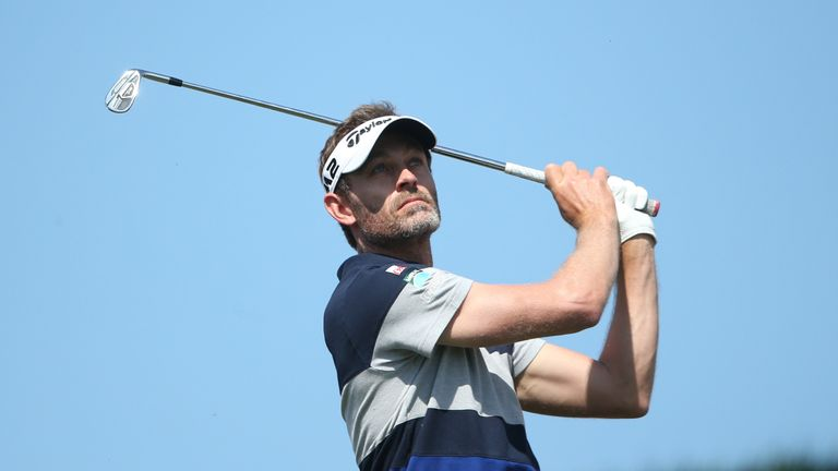 Raphael Jacquelin posted the joint-lowest round of the day